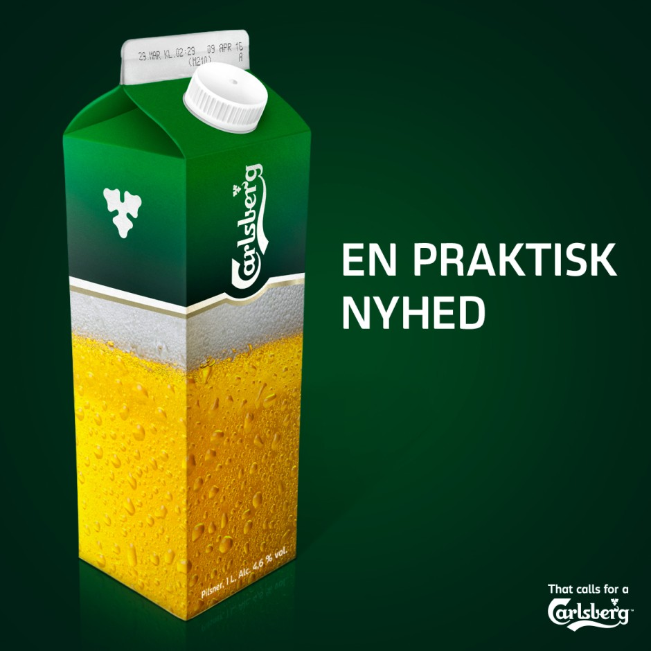 Carlsberg facebook post