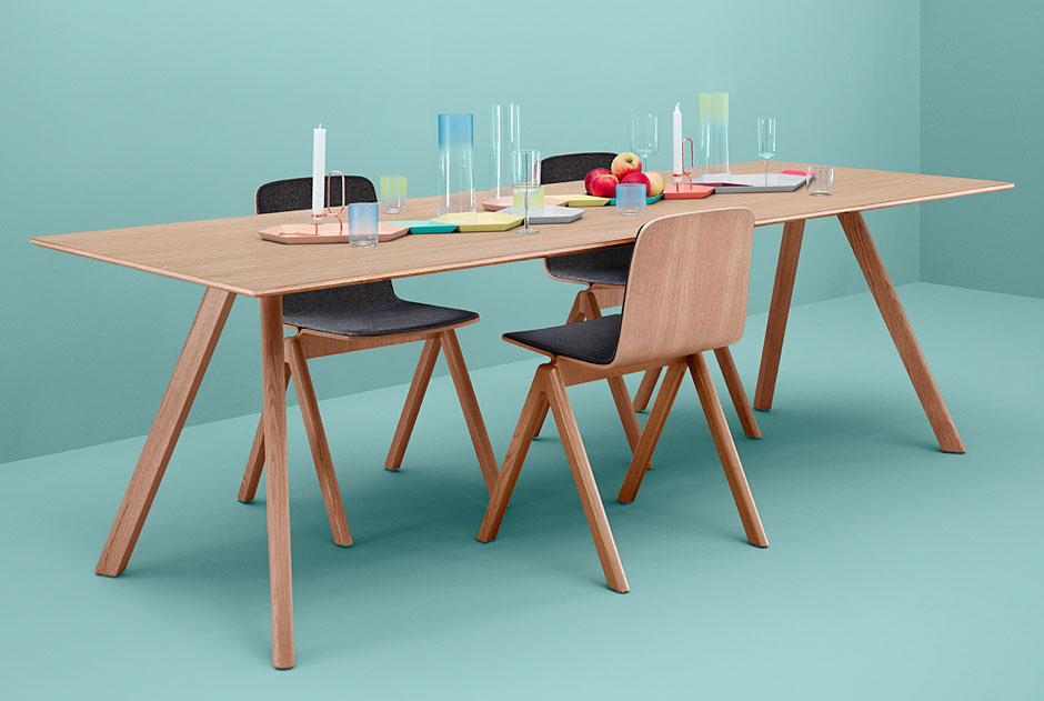 HAY Copenhagen Chair & Table