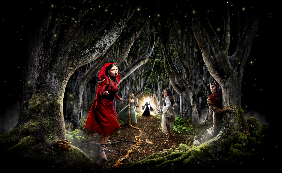 Into The Woods musical poster